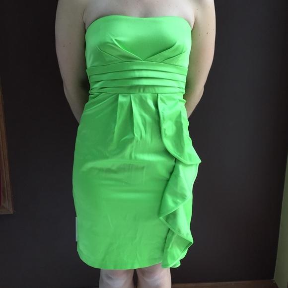 My Michelle Dresses & Skirts - Green Apple Little Strapless Dress